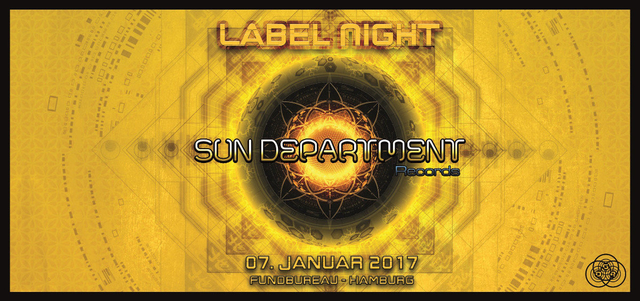 Party Flyer Sun Department Label Night 2017 7 Jan '17, 22:00