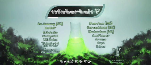 Party Flyer WintertekV 3 Feb '17, 22:00
