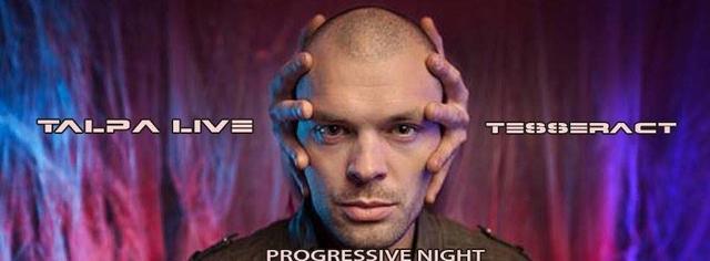 Party Flyer Progressive Night Talpa Live 4 Feb '17, 23:00