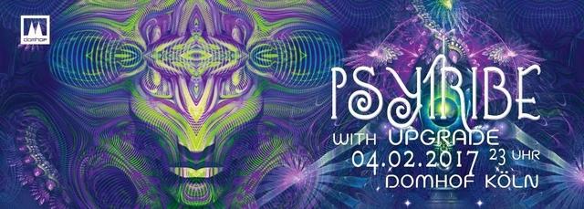 Party Flyer PSY TRIBE mit Upgrade und Nikki S 4 Feb '17, 23:00