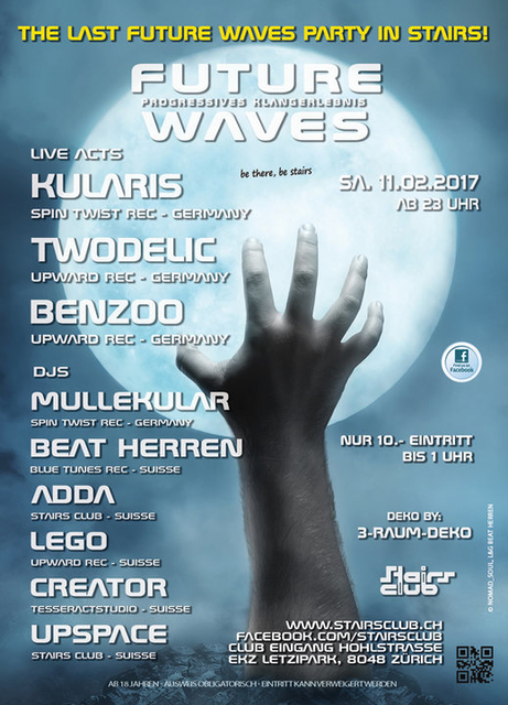 The last Future Waves Party in Stairs 11 Feb '17, 23:00