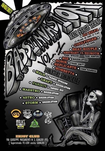 BassInvasion Volume1 Carnival Edition _LtzReload/NoSenseOfPlace 18 Feb '17, 22:00