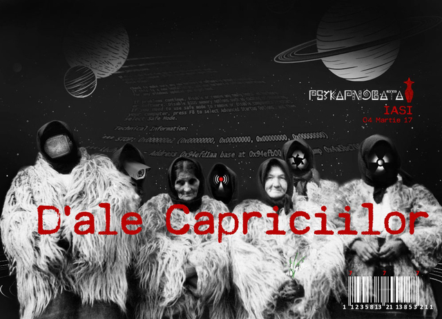 Party Flyer D'ale Capriciilor 4 Mar '17, 22:30