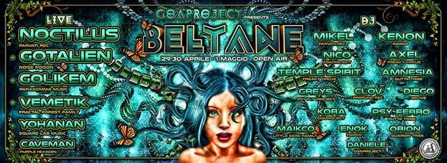 Party Flyer Beltane 29 Apr '17, 20:00