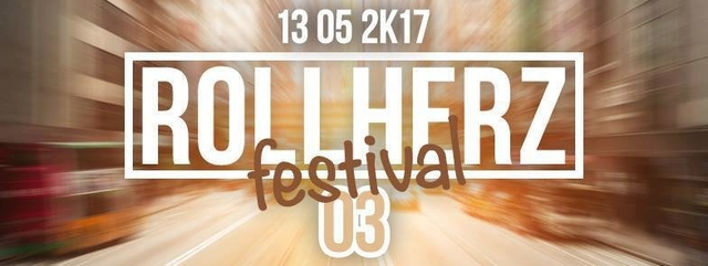 Party Flyer QuAnTuM•LeAp • @Rollherz Festival 04 • 4 SALE ROMA 13 May '17, 22:00