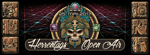 Party Flyer HERRENTAGS OA BLIEVENSTORF 25 May '17, 12:00