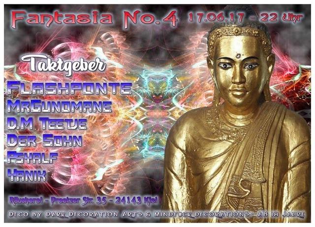 Party Flyer ॐFantasia № 4ॐ 17 Jun '17, 22:00