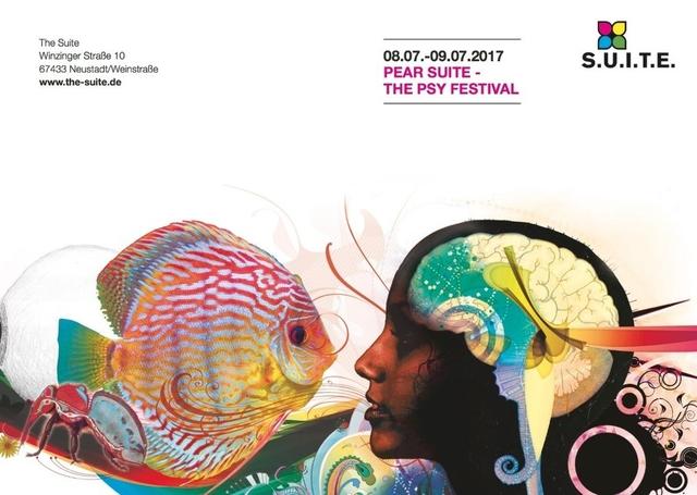 Party Flyer P.E.A.R. Suite / PsySuite 8 Jul '17, 22:00