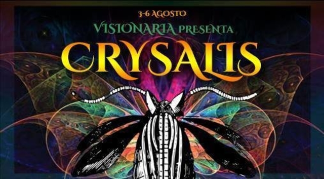 Party Flyer ःःःःछ Visionaria Crysalis छ ःःःः Il Festival 3 Aug '17, 16:00
