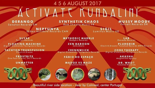 Party Flyer ACTIVATE - Kundalini edition 4 Aug '17, 18:00
