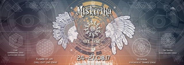 Misterika: One Tribe (4 day festival) 24 Aug '17, 13:00