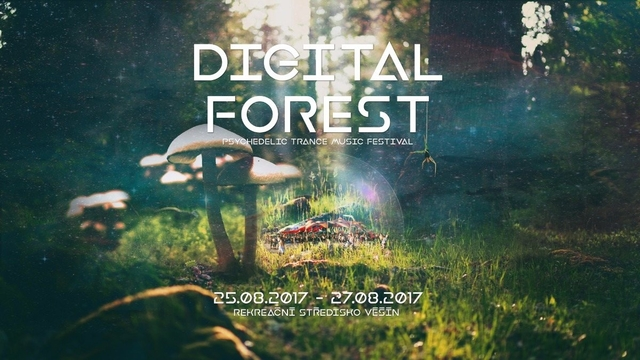 Party Flyer Digital Forest - Psychedelic Trance Music Festival 25 Aug '17, 20:00