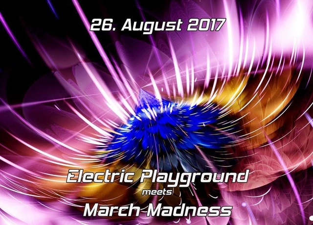 Party Flyer Electric Playground 26 Aug '17, 23:00