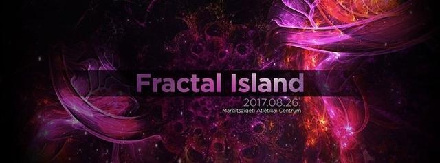 Party Flyer Fractal Island - VISUA | TesseracT Studio | Global Army Music 26 Aug '17, 22:00