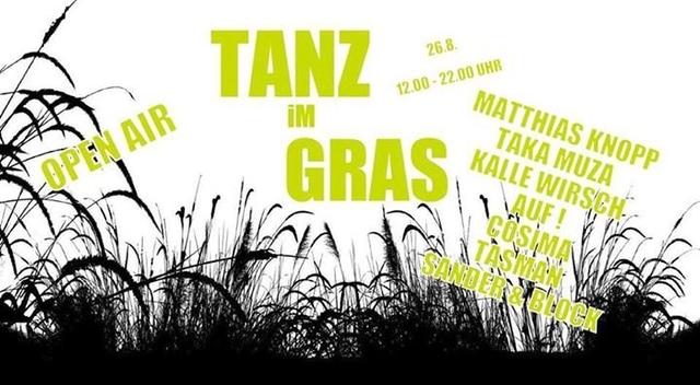 Party Flyer Tanz im Gras - Open Air 26 Aug '17, 12:00