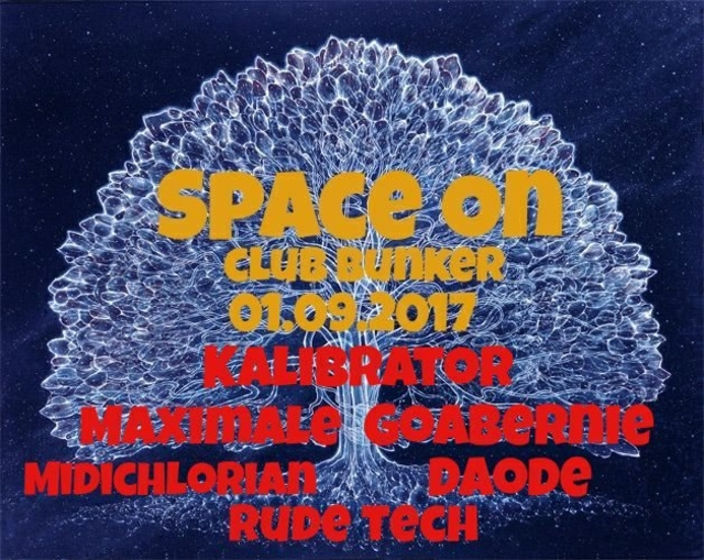 Party Flyer Space On 1 Sep '17, 22:00