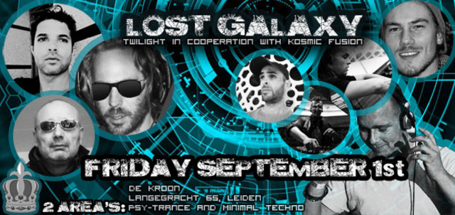 Party Flyer Twilight in coop. with Kosmic Fusion presents: Lost Galaxy 1 Sep '17, 23:00