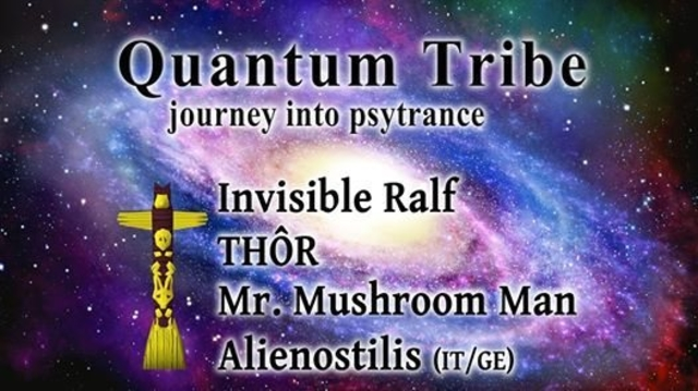 Party Flyer Quantum Tribe (journey into psytrance) 22 Sep '17, 22:00