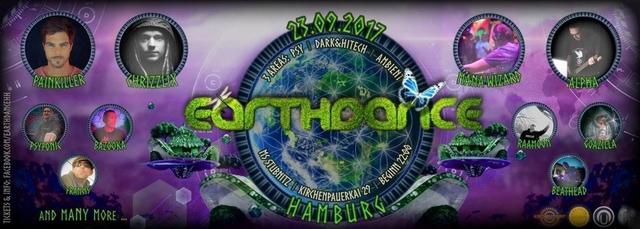 Party Flyer Earthdance Hamburg 23 Sep '17, 22:00