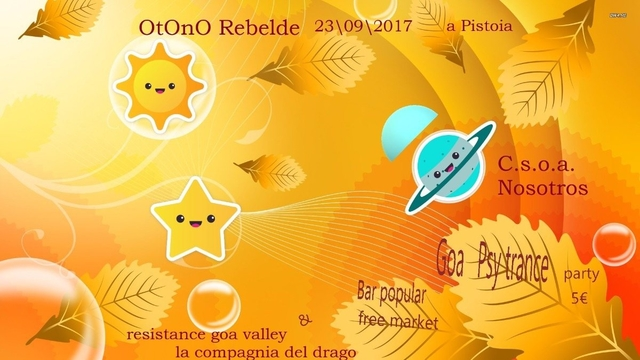 Party Flyer Otoño Rebelde 23 Sep '17, 18:00