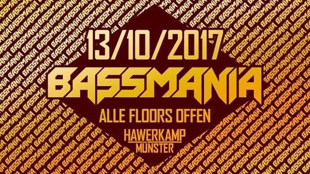 Party Flyer Bassmania Festival ( Trancefloor) 13 Oct '17, 23:00