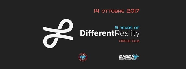 Party Flyer 5 Years of Different Reality 14 Oct '17, 23:00