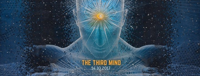 Party Flyer The Third Mind (1200 Micrograms, Bitmonx, Audiomatic) 14 Oct '17, 22:00