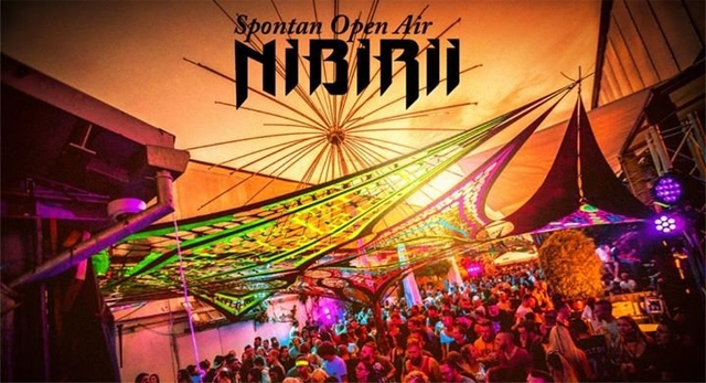 Party Flyer Nibirii Spontan Open Air at Bootshaus 15 Oct '17, 14:00