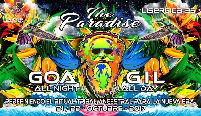 Party Flyer Goa Gil 2017: The Paradise 21 Oct '17, 19:00