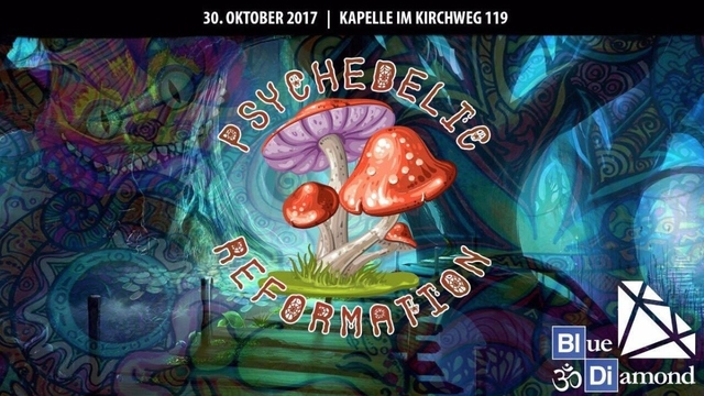 Party Flyer Psychedelic Reformation 30 Oct '17, 22:30