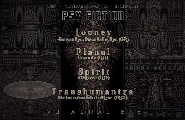Party Flyer PSY FICTION - episode II - 4 Nov '17, 22:00