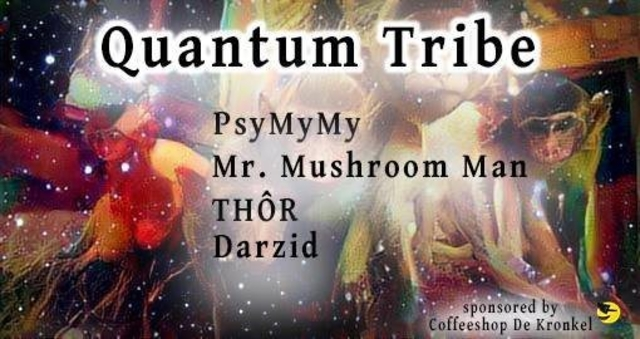 Party Flyer Quantum Tribe (journey into psytrance) 10 Nov '17, 23:00