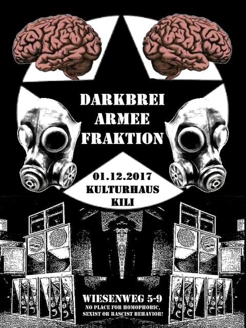 Party Flyer Darkbrei Armee Fraktion 1 Dec '17, 23:00