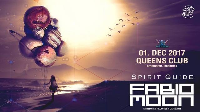 Party Flyer Psybox - Spirit Guide with FABIO & MOON *Live & Dj Set 1 Dec '17, 22:00