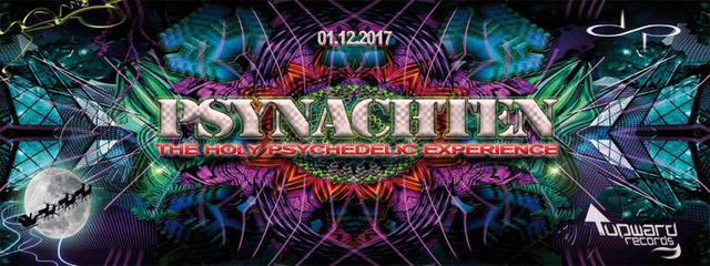 Party Flyer ⚬°• PSYNACHTEN •°⚬ 1 Dec '17, 23:00