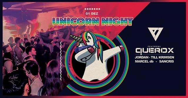 Party Flyer Unicorn Night - Einhörner der Nacht 1 Dec '17, 23:00