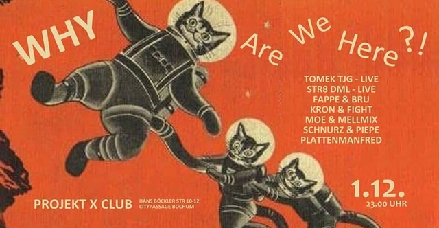 Party Flyer WHY Are We Here?! 1 Dec '17, 23:00