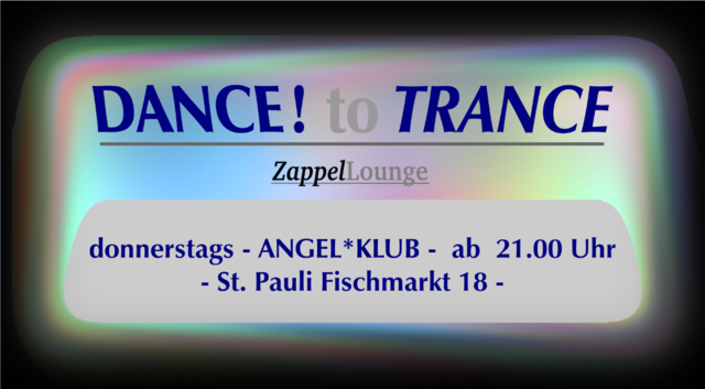 Party Flyer DANCE to TRANCE 7 Dec '17, 21:00
