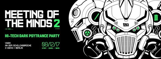 Party Flyer Meeting of the Minds Vol. 2.0 8 Dec '17, 22:00