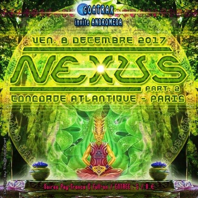 Party Flyer NEXUS - Part II 8 Dec '17, 23:30