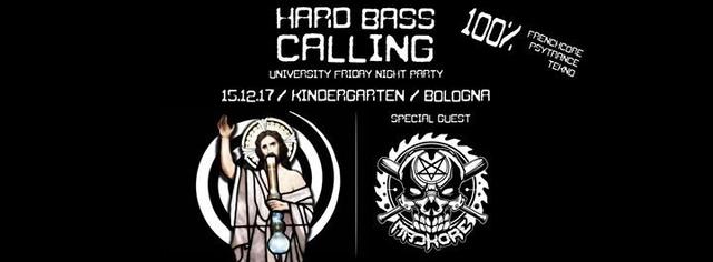 Party Flyer Hard Bass Calling vol.2 15 Dec '17, 23:00