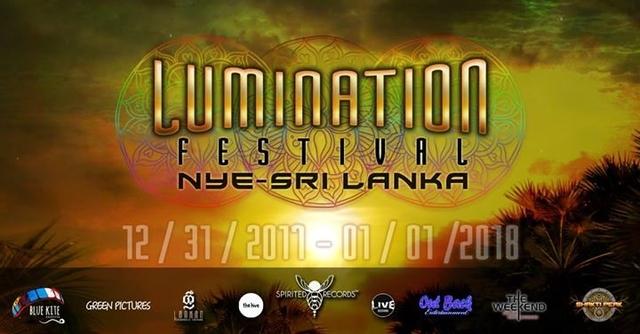 Party Flyer Lumination Festival - Nye Sri Lanka 31 Dec '17, 11:00