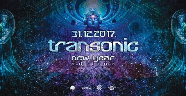 Party Flyer Transonic - New Year Edition 31 Dec '17, 22:00