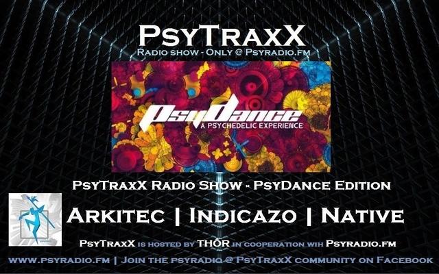 Party Flyer PsyTraxX Radio Show - PsyDance Edition 6 Jan '18, 20:00