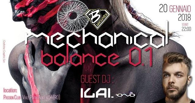 Mechanical Balance 0.1 Feat. Ilai 20 Jan '18, 22:00