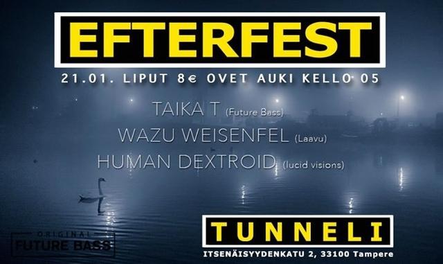 Party Flyer Efterfest 21 Jan '18, 05:00