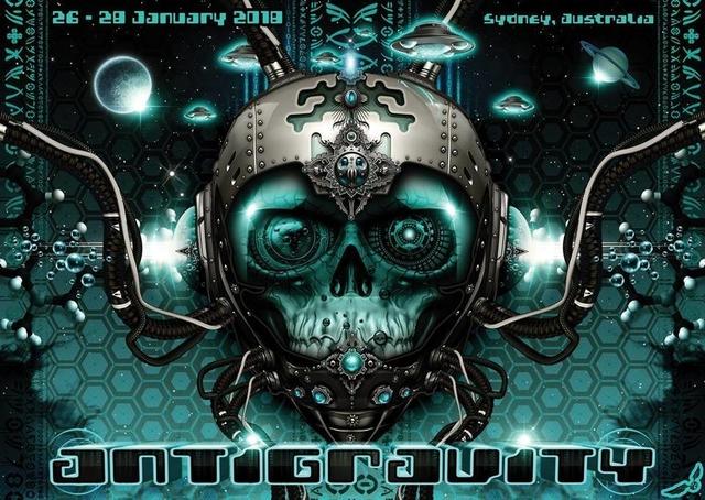 Party Flyer ANTIGRAVITY 2018 26 Jan '18, 22:00