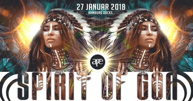 Party Flyer Spirit Of Goa 2018 27 Jan '18, 22:00