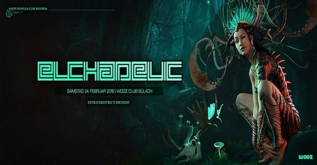 Party Flyer Elchadelic 24 Feb '18, 22:00