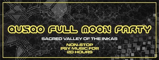 Party Flyer QUSQO FULL MOON PARTY 2 Mar '18, 17:00